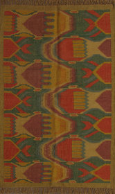 Rugsville Dhurrie Southwestern Multi Wool Handmade 13643 4x6 Rug