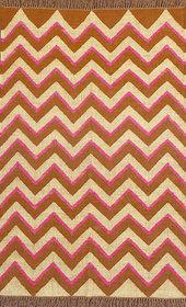 Rugsville Dhurrie Modern Multi Wool Handmade 13671 4x6 Rug