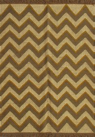 Rugsville Dhurrie Modern Multi Wool Handmade 13684 4x6 Rug