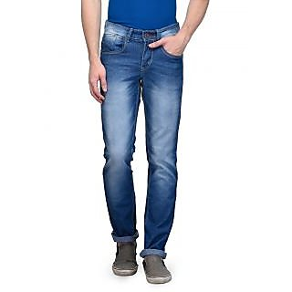 Canary London Blue Mens Narrow Fit Jeans