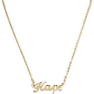 Harp Hope Chain Necklace Metal Chain 201509006
