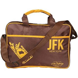 Harp Airport Tote Brown JFK