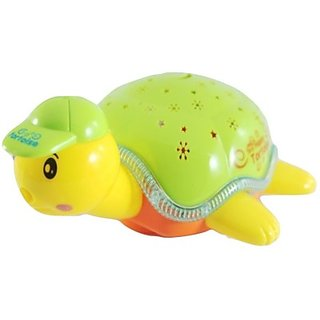 Littlegrin Battery Operated Electric Turtle Toy For Kids (Multicolor)