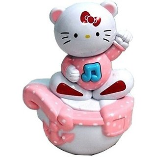 Littlegrin Musical Roly Poly Kitty Baby Toy (Multicolor)