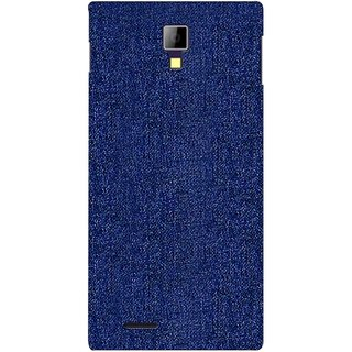 G.store Printed Back Covers for Micromax Canvas Xpress A99 blue