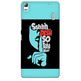 G.store Printed Back Covers for Lenovo K3 Note Black