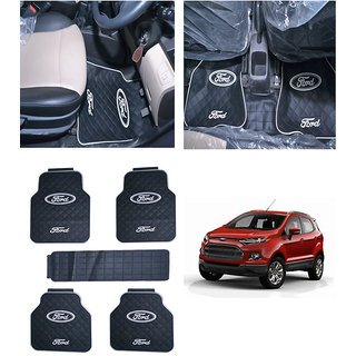 Takecare Car Rubber Floor Mat For Ford Ecosport