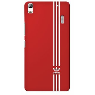 G.store Printed Back Covers for Lenovo A7000 Red