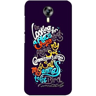 G.store Printed Back Covers for Micromax Canvas Xpress 2 E313 Multi