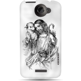 G.store Printed Back Covers for HTC One X Plus White