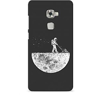 G.store Printed Back Covers for Huawei Mate S Grey