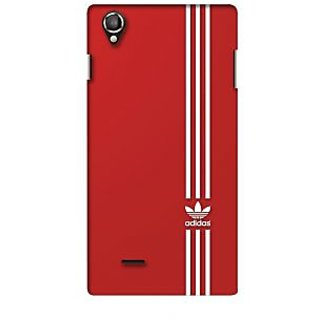 G.store Printed Back Covers for Lava Iris 800 Red