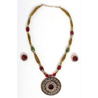 Fancy Meenakari Design Jewellery Set M.no 2
