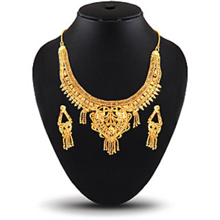 Online buy 1gm gold plated necklace set get 1 free prices buy 1gm gold plated necklace set get 1 free aloadofball Image collections