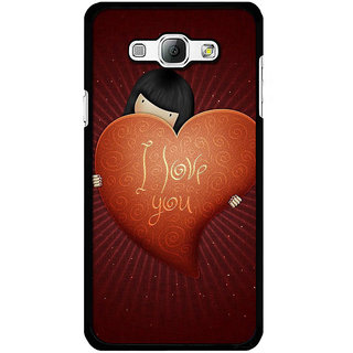 Instyler Digital Printed Back Cover For Samsung Galaxy A8 SGA8DS-10427