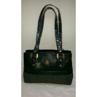 Black leather Sling bag - Ayesha Leather