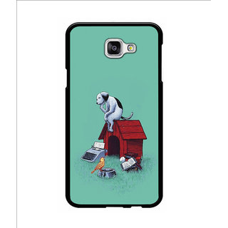 Instyler Digital Printed Back Cover For Samsung Galaxy A5(2016) SGA5(2016)DS-10190
