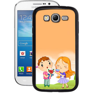 Instyler Digital Printed Back Cover For Samsung Galaxy Grand 2 SGG2DS-10355