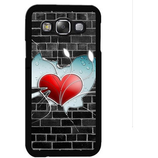 Instyler Digital Printed Back Cover For Samsung Galaxy E5 SGE5DS-10408