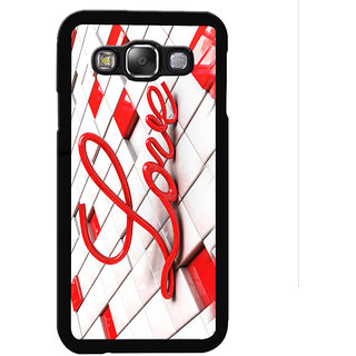 Instyler Digital Printed Back Cover For Samsung Galaxy E5 SGE5DS-10431