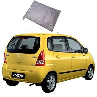 Zen Estilo Car Body Cover Metty Silver In India Shopclues Online