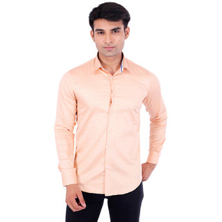 Vaitolua Mens Cotton Printed Full Sleeve Shirt