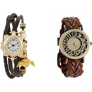 COSMIC MULTI COLOR DESIGNER PARTY WEARING WATCH - SET OF 2 - EVOLUTION-1 Analog Watch - For Girls, Women