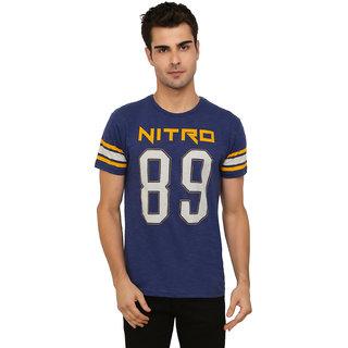 Imagica Tee Crew Men Nitro 89 Slub Round Neck  Half Sleeve  Mens T-Shirt
