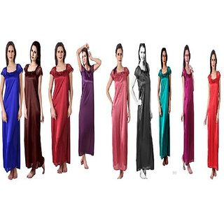 @rk whole sale rate of Causal summer 10 PC Nighty,Gown,Night suits,night dress