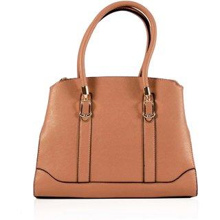 Abassi women Beige pu handbag-9280