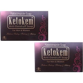 Ketokem Anti-Dandruff soap(set of 5 pcs.)
