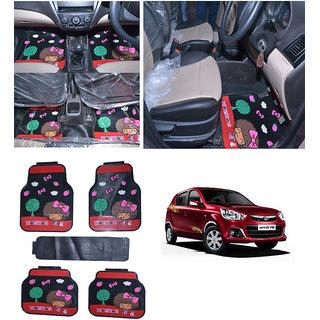 Takecare Car Moc Moc Rubber Floor Mat For Maruti Alto K-10