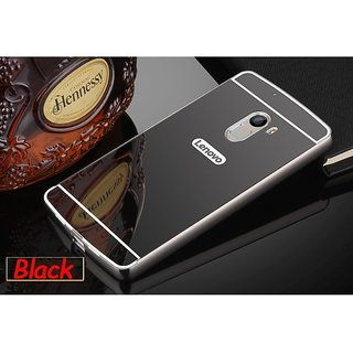 Lenovo k4 Note mirror back cover  (Black)
