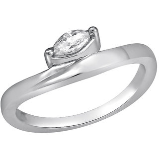 White Cubic Zircon in Silver925 - R525005G