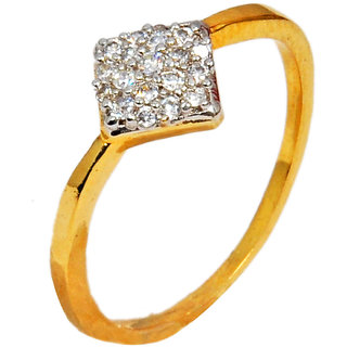 Maayra American Diamond Office Dailywear Free-size Finger Rings