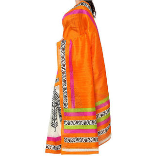 NARAYANAN STORES Womens Cotton Bhagalpuri Saree