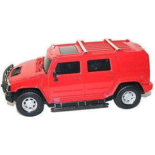 Littlegrin Hummer Remote Control Model Car Scale 116 With Charger Kit Gift Toy For Kids (Red)