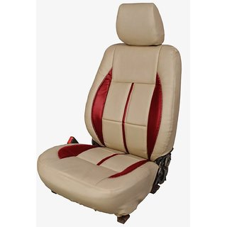 Maruti Ertiga Beige Leatherite Car Seat Cover