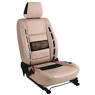 Hyundai Creta BeigeLeatherite Car Seat Cover