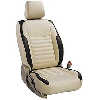 Hyundai Xcent Beige Leatherite Car Seat Cover