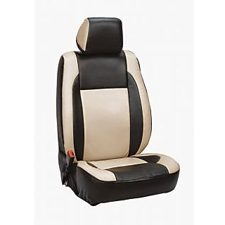 Renault Duster Beige Leatherite Car Seat Cover