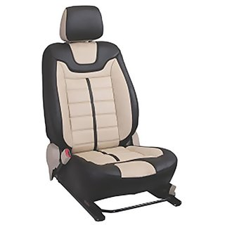 Honda City BeigeLeatherite Car Seat Cover