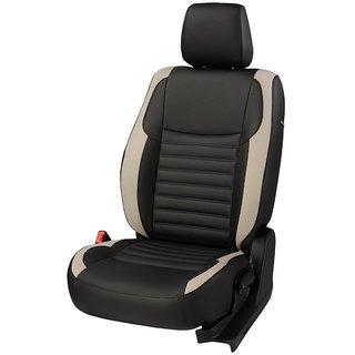 Honda Amaze black Leatherite Car Seat Cover