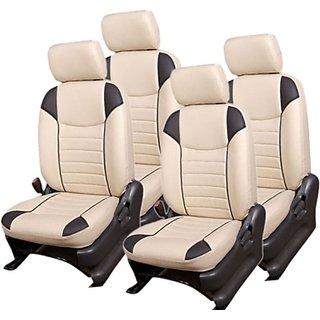 Maruti Alto 800 Beige Leatherite Car Seat Cover