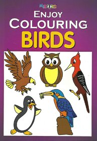 My Book Coloring Birds Book
