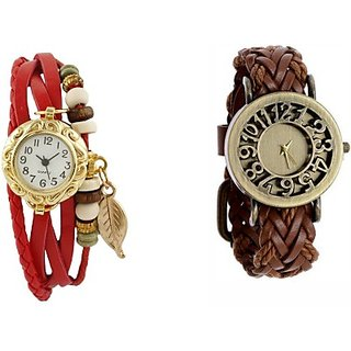 Cosmic MD7938 PACK OF 2 WOMEN BRACELET WATCHES Analog Watch - For Women