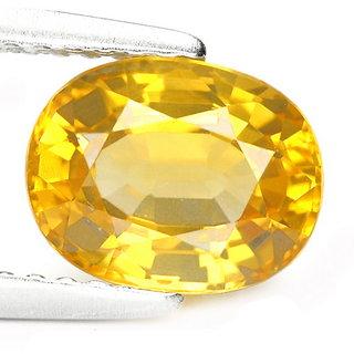 CEYLON SAPPHIRE 6.25 carat pukhraj natural certified stone