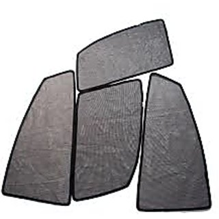 Premium Quality Jet Black Magnetic Sun Shades for Honda City 2014 onwards