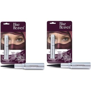 Blue Heaven Personal Kajal set of 2 pcs. 1.5 g (Black)