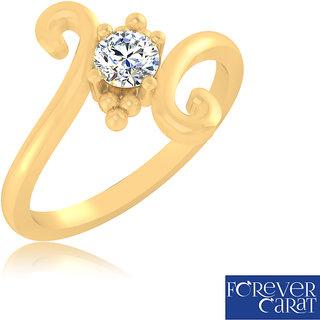 Certified 0.24ct Natural White Diamond Ring 14k Hallmarked Gold Ring LR-0304